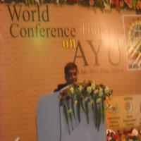 Dr.Gaurangas a Guest Speaker at World  Conference